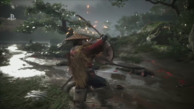 Ghost of Tsushima Gameplay Reveal with Flute Sony E3 2018