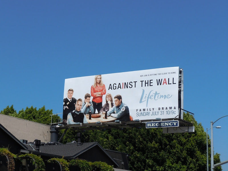 Against The Wall billboard