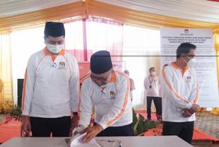 Deklarasi Damai Paslon Bupati-Wakil Bupati Sergai Hanya Dihadiri Soekirman-Tengku Ryan