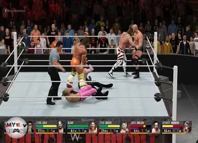 المزيد عن تحميل لعبة المصارعة WWE 2K16 للكمبيوتر برابط مباشر