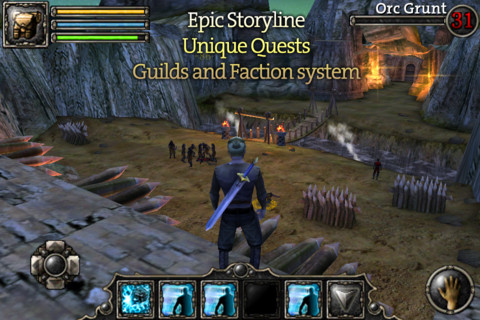 Aralon Sword and Shadow 3d RPG for Android Terbaru