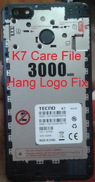 Tecno K7 Flash File apk free