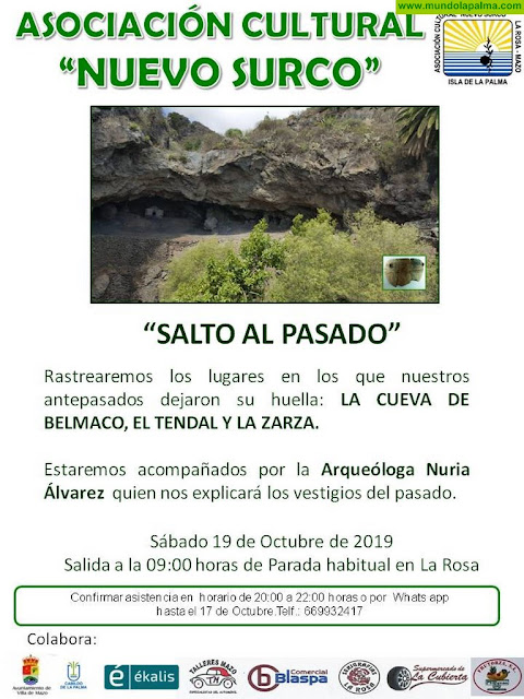 """""""Salto al Pasado"""" - La Cueva de Belmaco, El Tendal y La Zarza"""