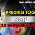 Prediksi Togel SGP 13 September 2021