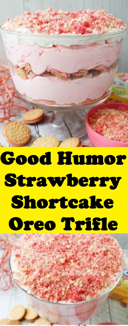Good Humor Strawberry Shortcake Oreo Trifle