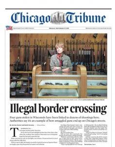Chicago Tribune Magazine 27 September 2021