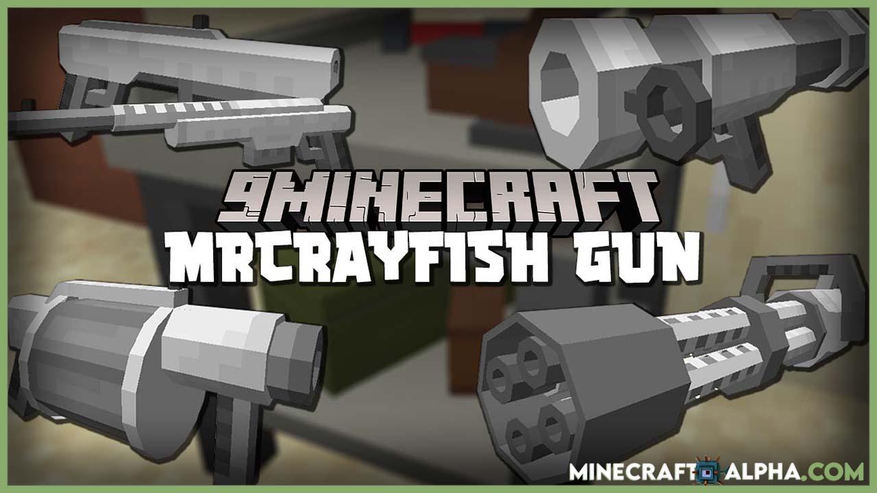 Xbox one minecraft gun mods. Minecraft Mrcrayfish S New Gun Mod For 1 16 5 Firearms Minecraft Alpha
