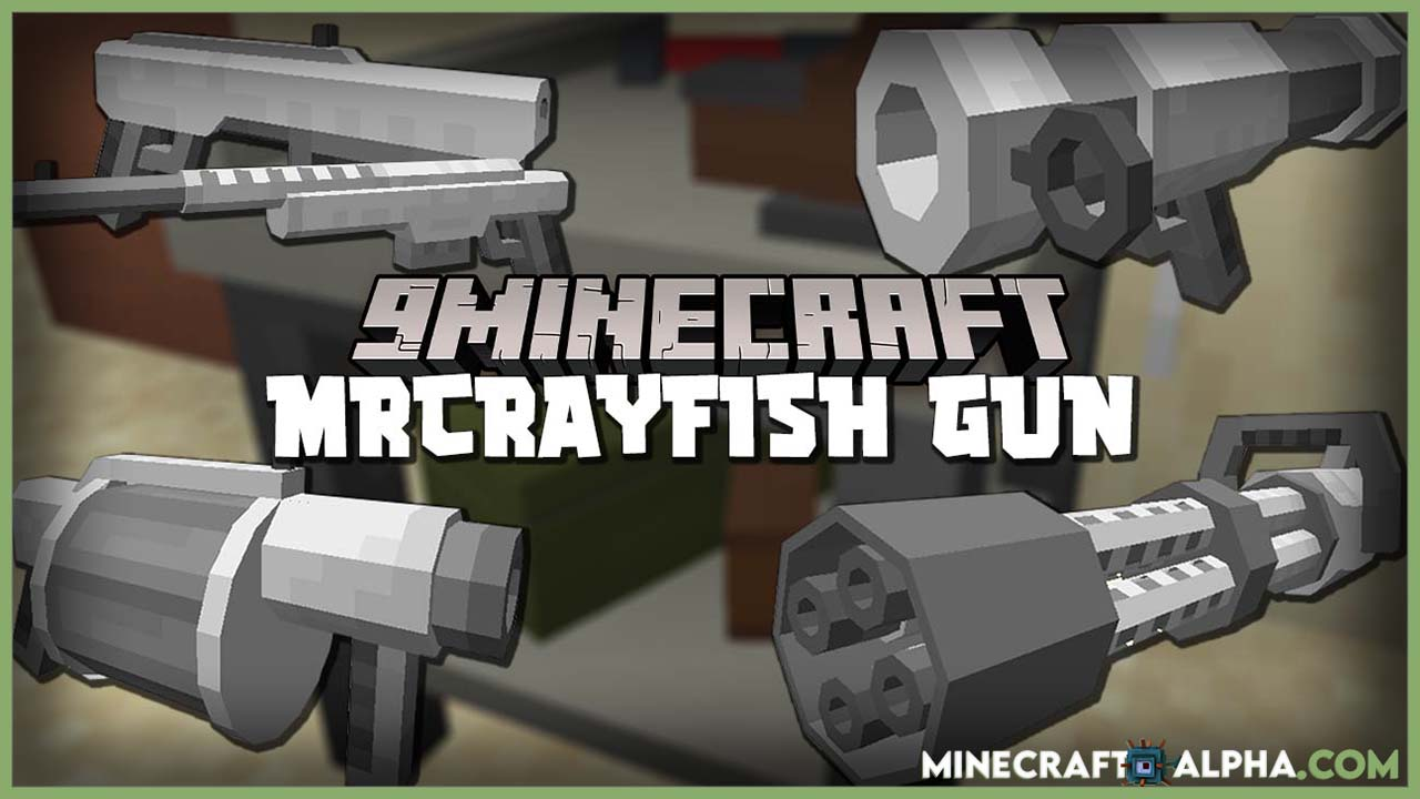 Minecraft-MrCrayfish-New-Gun-Mod-Firearms