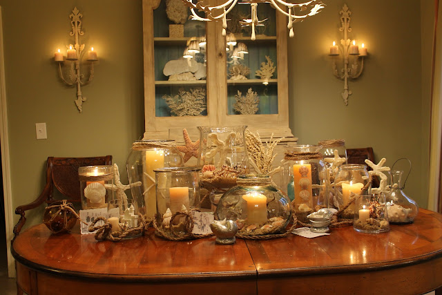 ideas for beach centerpieces