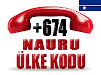 +674 Nauru ülke telefon kodu