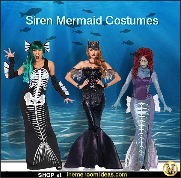 Siren Mermaid Costume - Zombie Mermaid Costume - Siren Mermaid Costume - Zombie Mermaid Costume
