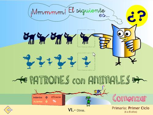 Patrones con animales