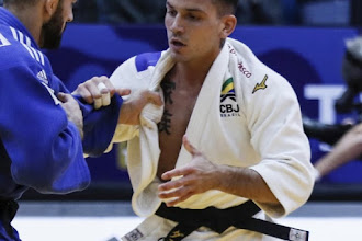 Judocas brasileiros passam em branco no primeiro dia do Grand Slam de Dusseldorf