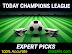 Today Champions League Predictions - 02/10/2019 October