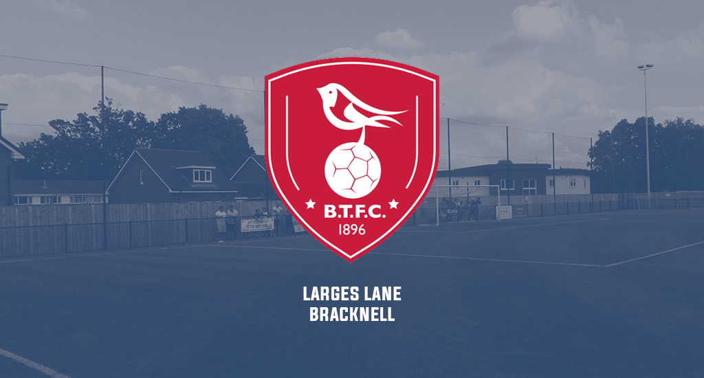 Larges Lane and Bracknell Town FC logo