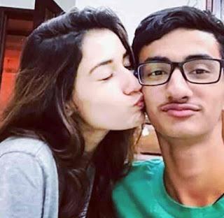Suryansh Patani With Disha Patani