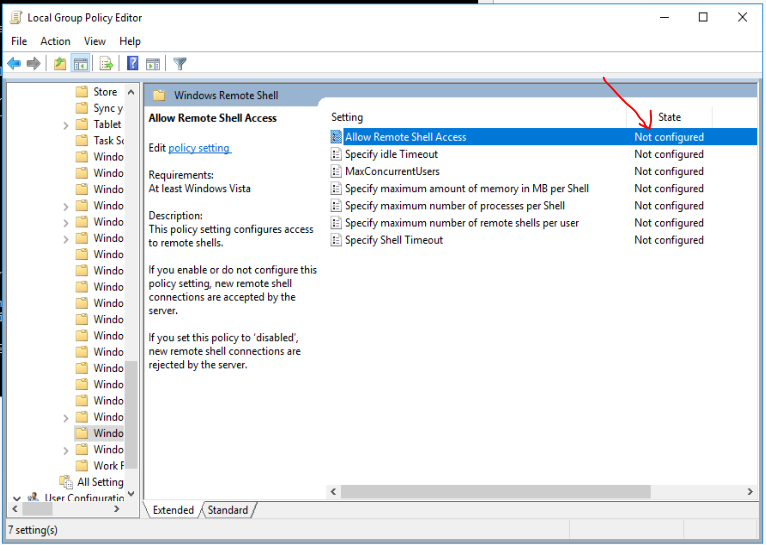 How to Enable Windows Server 2016 Remote Shell ~ Migration King