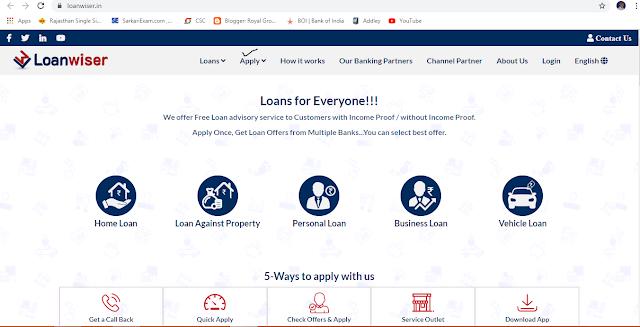 loaniser se loan kaise le