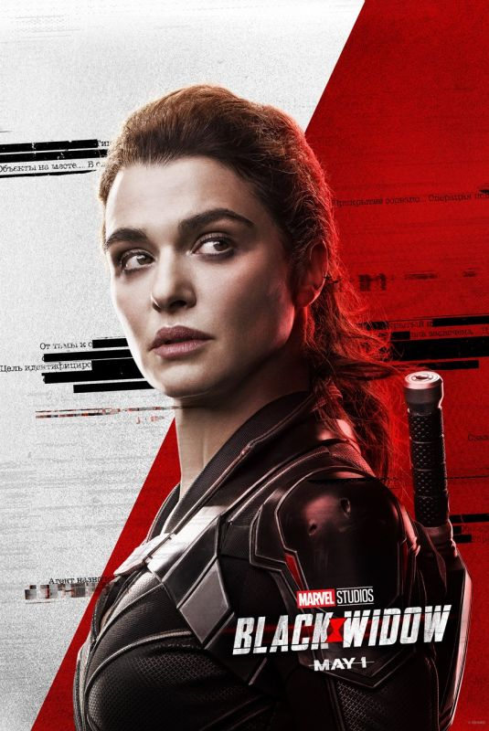 Rachel Weisz – Black Widow Poster -2020