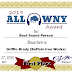 2019 ALL WNY AWARD: Best Sound Person: Griffin Brady