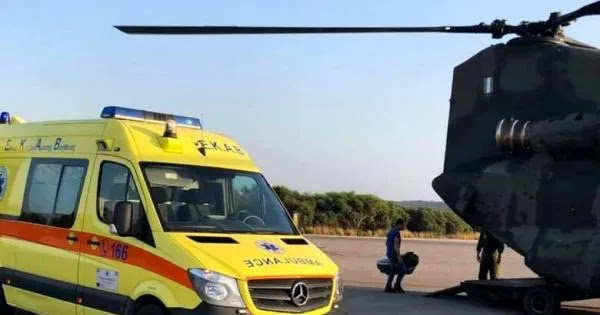 Απίστευτο show  για  να βάλουν  στα κανάλια τους: Αεροδιακομιδή ασθενούς με «κορωνοϊό» μέσα σε ειδική κάψουλα (βίντεο)