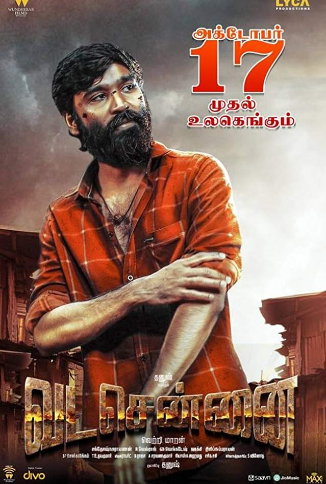 Vada Chennai (2018) Tamil 400MB HDRip ESub Download