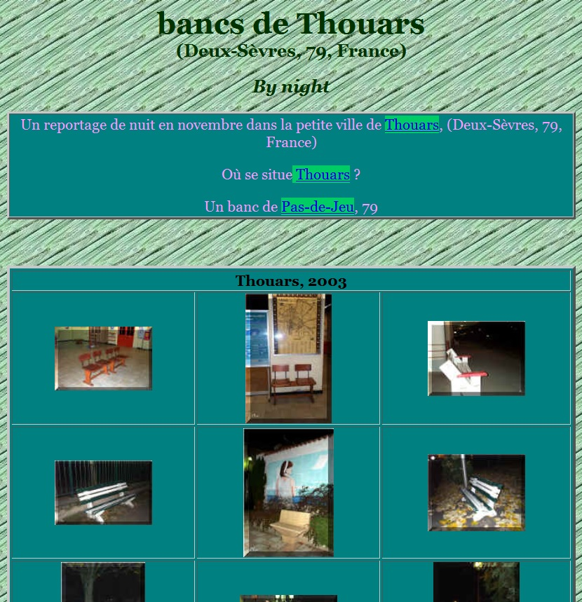 Une passion bancale le caf de la ville - Office du tourisme thouars ...