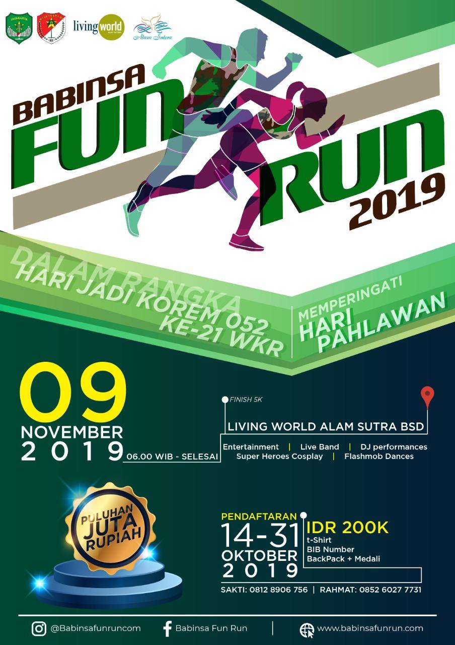 Babinsa Fun Run • 2019