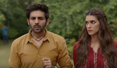 Kartik Aaryan and Kriti Sanon Looks in Luka Chuppi Movie, Luka Chuppi Images, Wallpapers, Luka Chuppi Photo