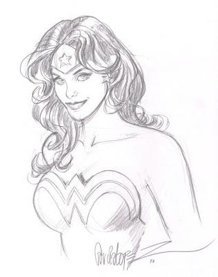 Wonder Woman by Jose Luis Garcia Lopez