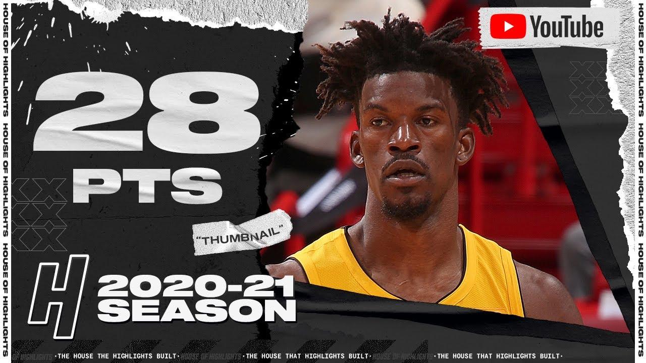 Jimmy Butler 28pts 12reb vs CLE   March 16, 2021   2020-21 NBA Season