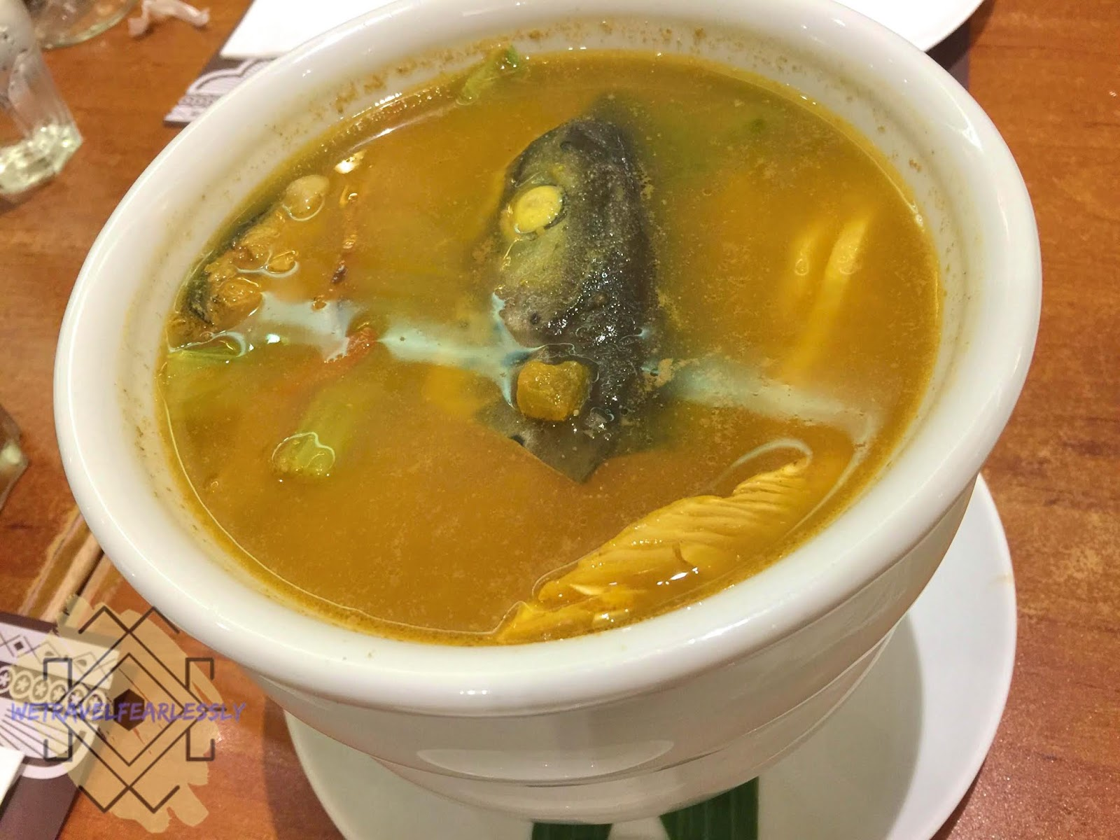Sinigang Zamora - Salmon (PHP495) - Crisostomo in Eastwood City, Libis - WTF Review