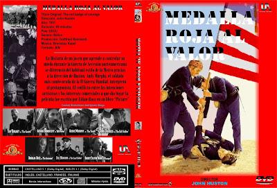 Caratula, cover, dvd: Medalla roja al valor | 1951 | The Red Badge of Courage