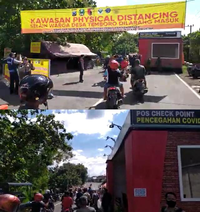 Menyambut New Normal Warga Temboro Demo Ke Posko Covid19 Magetan