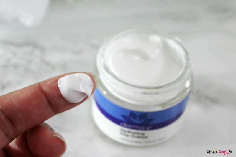 face moisturizer on a white marble table