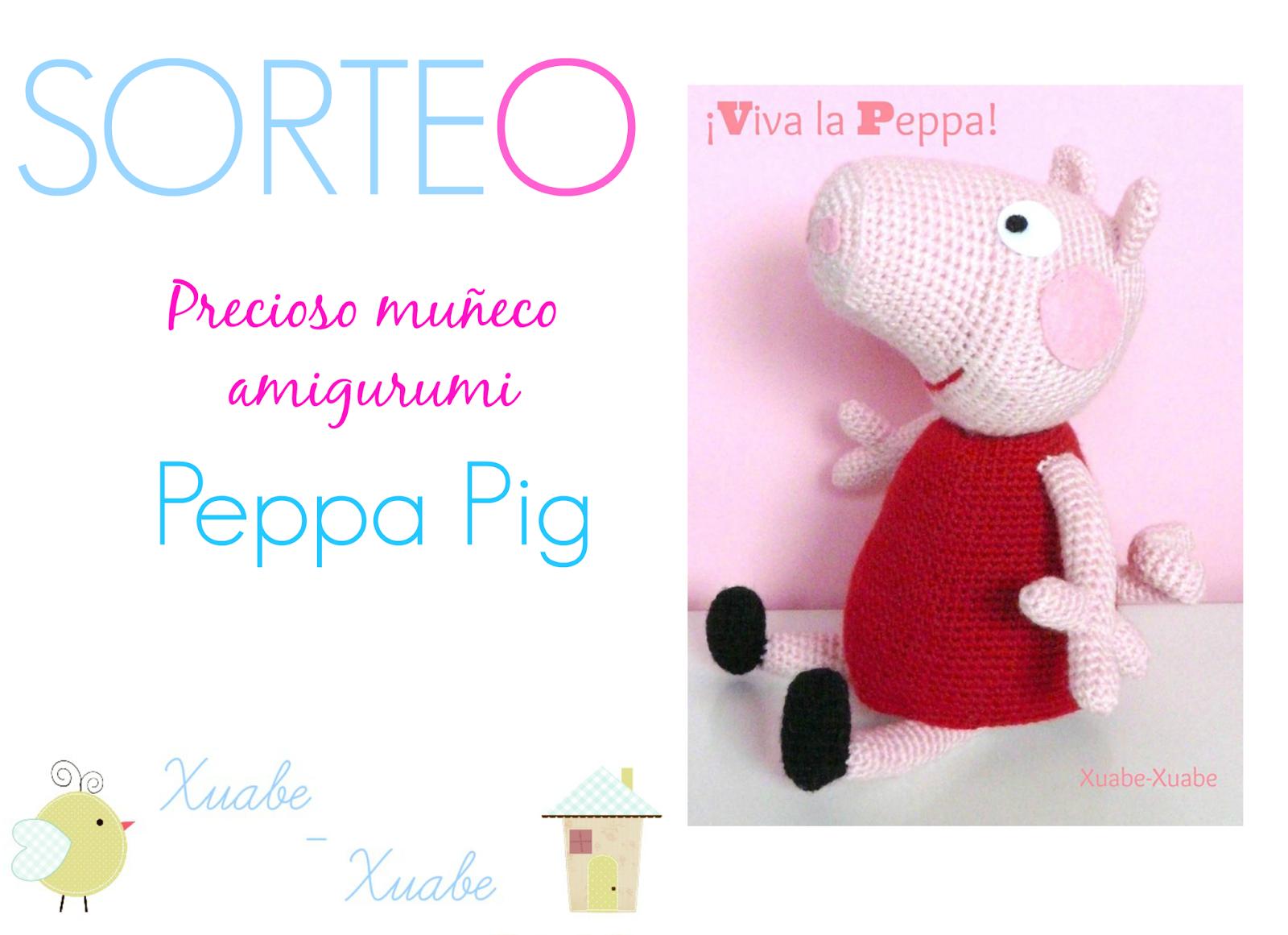 Pepa pig en pijama - Lluvia de amigurumis   Facebook   1161x1600
