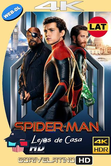 Spider-Man: Lejos de Casa (2019) WEB-DL 4K HDR Latino-Ingles MKV