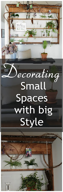 Decorating a small space with tons of style like a professional.