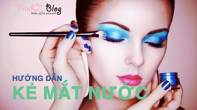 Tự học makeup cách kẻ mắt nước