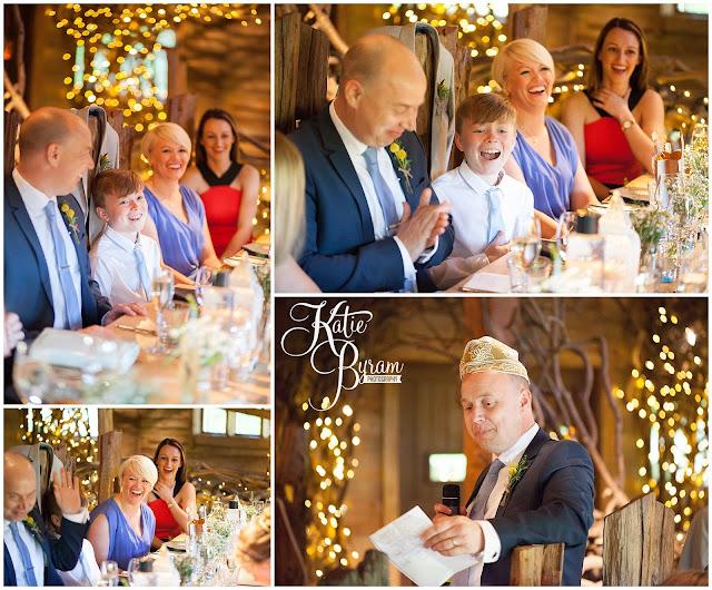wedding speeches, alnwick treehouse wedding, alnwick treehouse, katie byram photography, alnwick gardens wedding, northumberland wedding venue, relaxed wedding photography, quirky wedding photographer