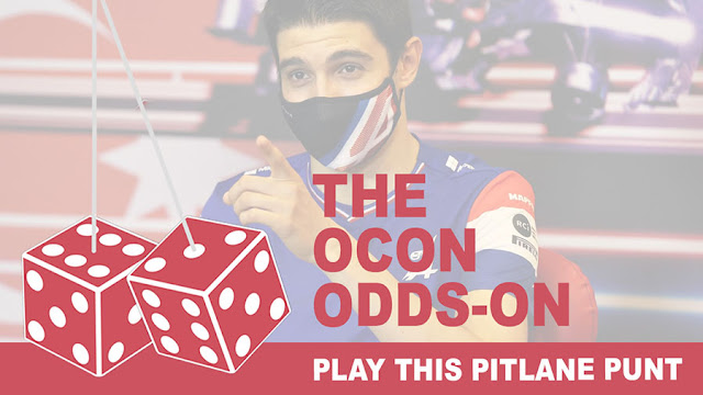 Play the Ocon Odds-On Pitlane Punt