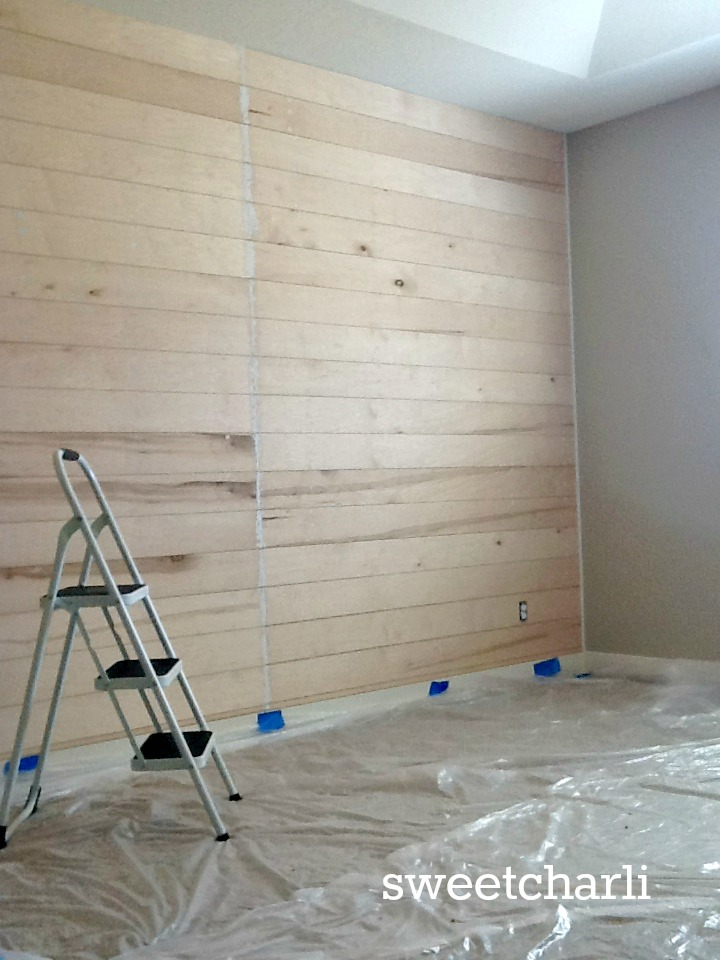Well known Why You Should do a Wooden Plank Wall in Your Bedroom - Sweet Charli UY31