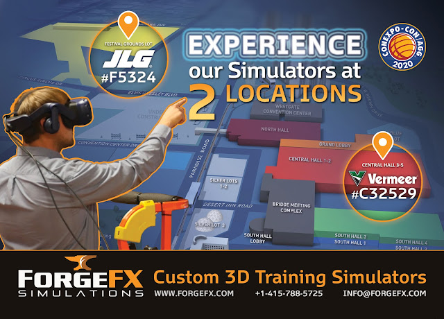 ForgeFX Simulations at ConExpo 2020