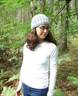 hat, beanie, ribbed, knit, knitting, pattern, bulky, yarn, blue