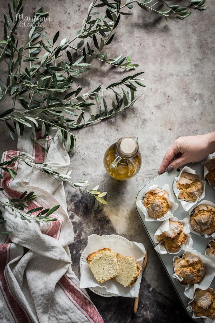 Mojicones de aceite de oliva virgen extra.