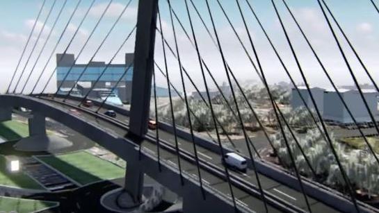 أشغال الجسر المعلق بسيدي معروف مثعترة لهذا السبب