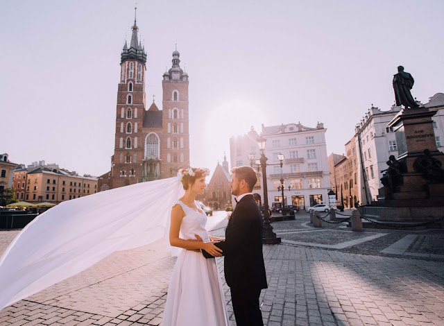 Asia & Diego / plener ślubny w Krakowie