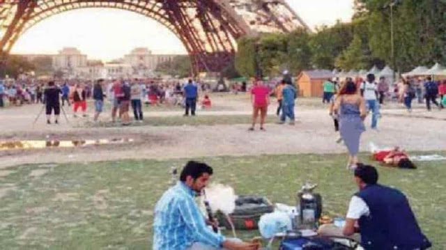 Using Hookah in Public places, Parks is a violation, This is its Fine - Saudi-Expatriates.com