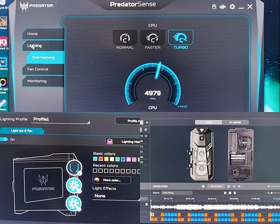 Acer Predator Orion 5000 - Predator Sense