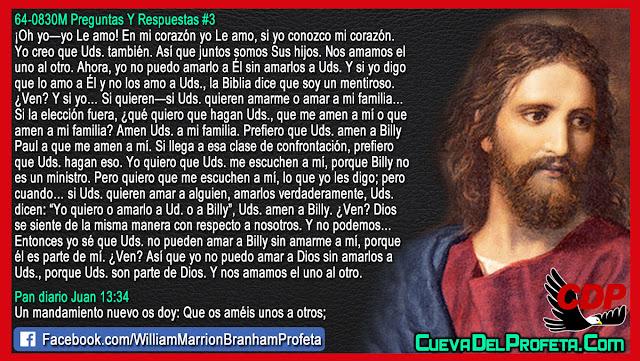 Se puede amar a Dios sin amar a los demas - William Branham en Español